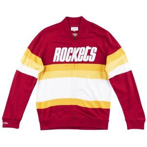 Mens Mitchell & Ness NBA Front Stripe Sweater